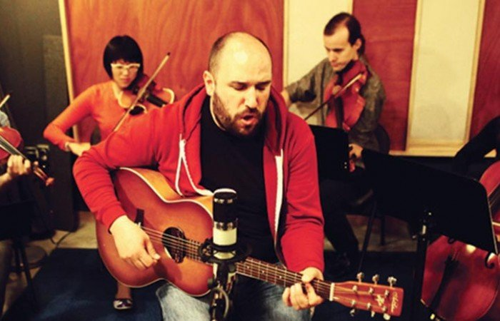 """Volume 1"" by David Bazan  & The Passenger String Quartet"