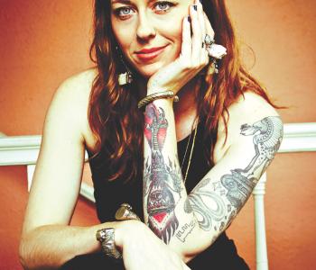 Portland artist Morgaine Faye